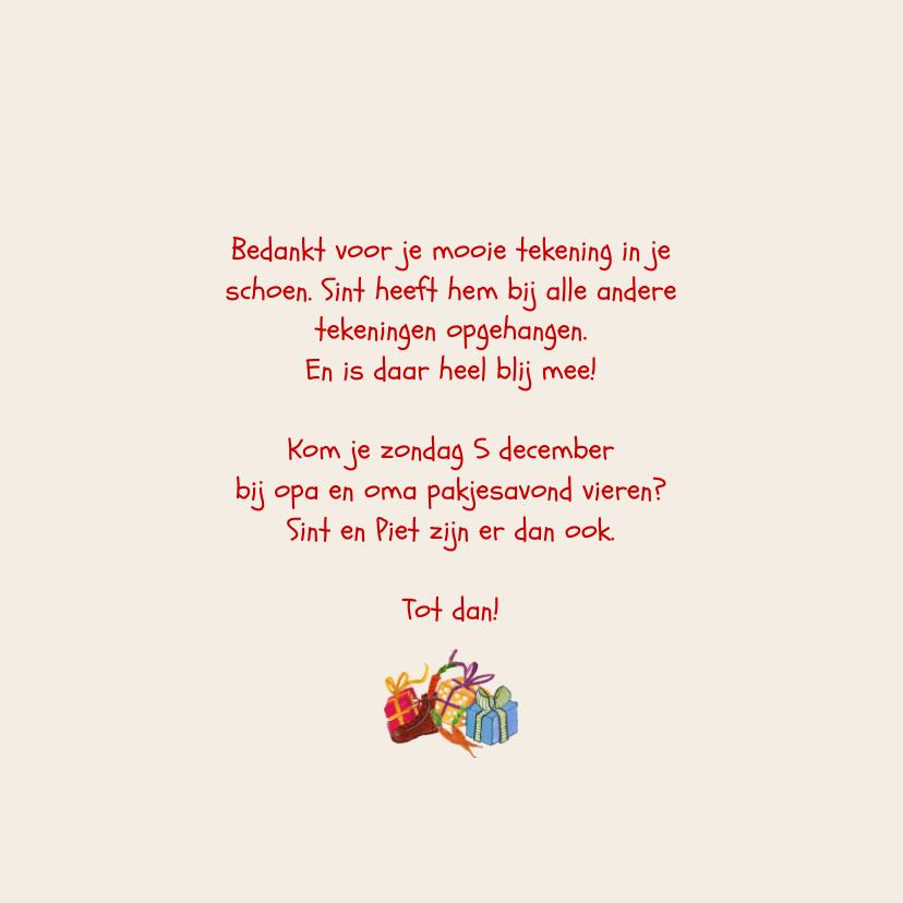 Sinterklaas Pakjes Avond Illustratie 3