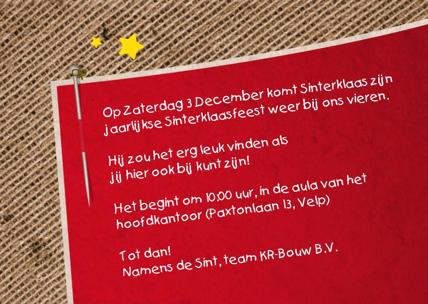 Sinterklaasfeest Bedrijf Logo 3