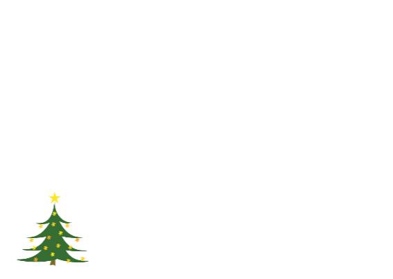 Sneeuwlandschap kerstbomen 3