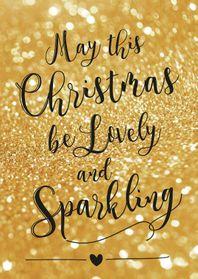 Kerstkaarten - Sparkling Christmas-BF