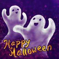 Halloween kaarten - Spooky halloween