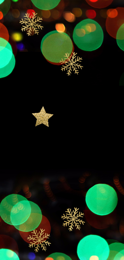 Sprankelende zakelijke kerstkaart - LO 2