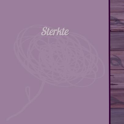 Sterkte abstracte bloem paars 3