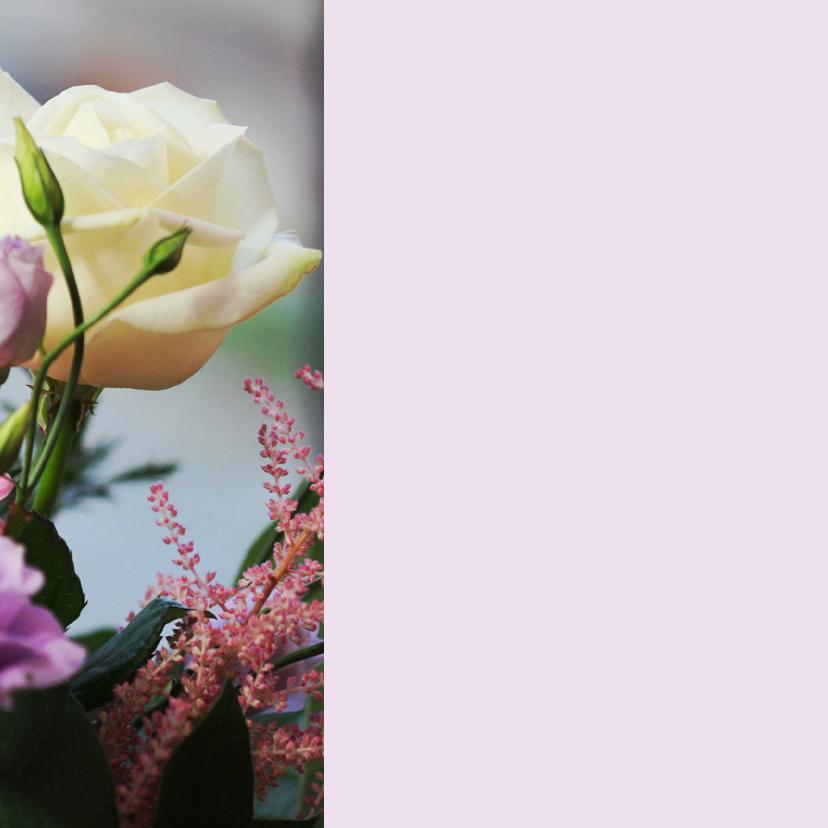 Sterkte bloemen met kaart 2