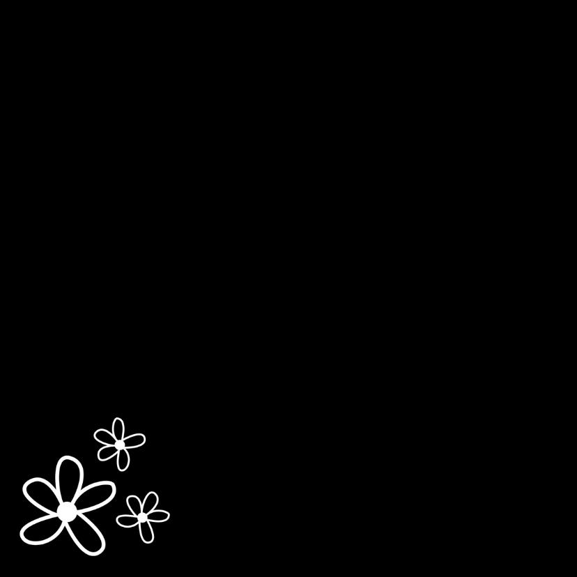 Sterkte gewenst met bloem 2