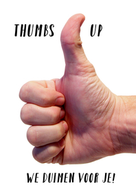 Sterkte kaarten - Sterkte kaart Thumbs up