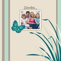Sterkte kaarten - Sterkte kaart Vlinder Foto - HE