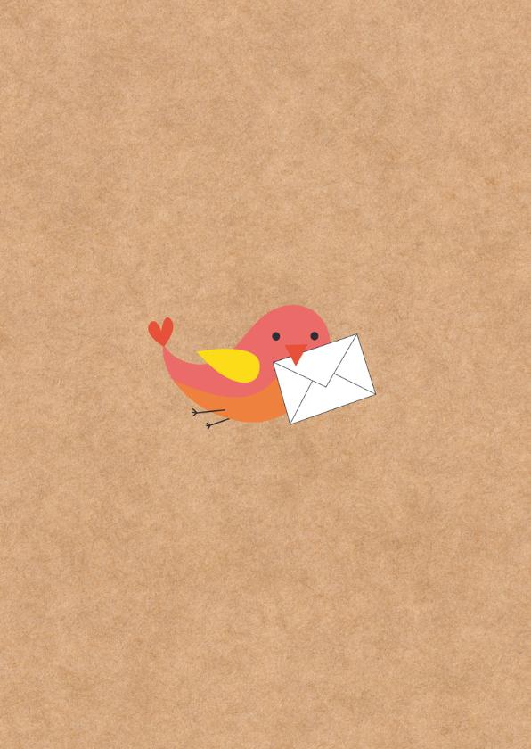 Sterktekaart- Brief van Vogel-HK 2