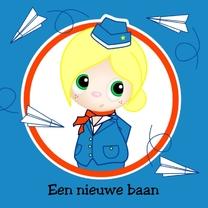 Felicitatiekaarten - Stewardess