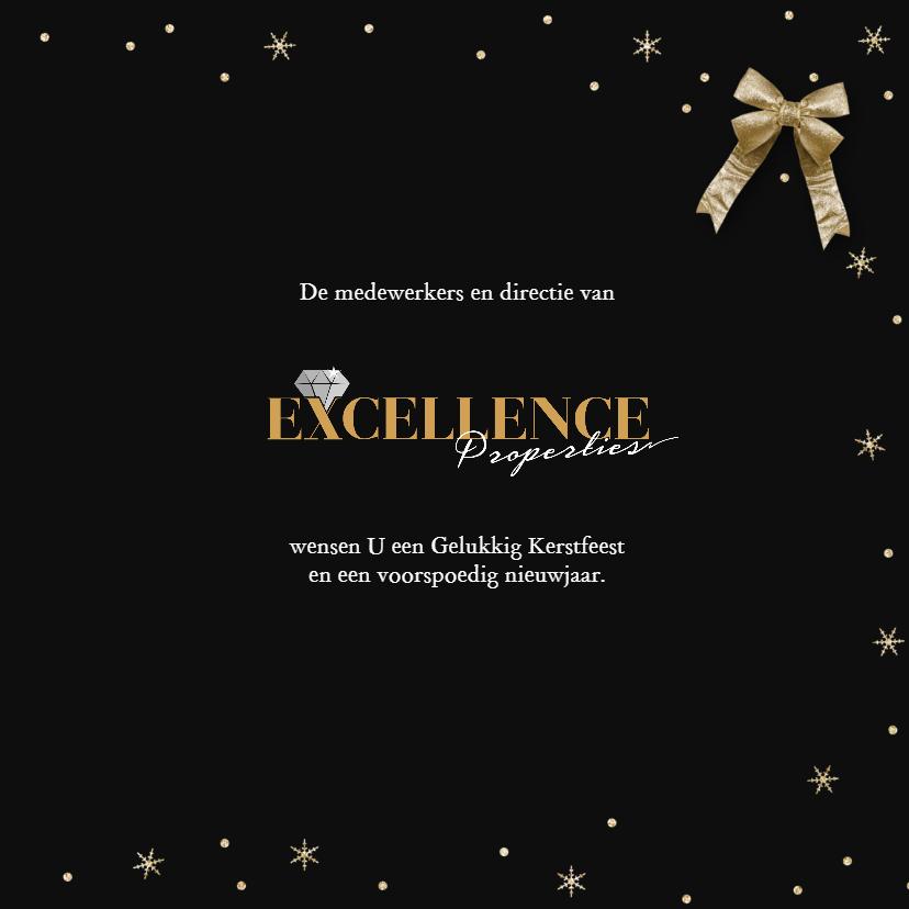 Stijlvolle zakelijke kerstkaart met logo 3