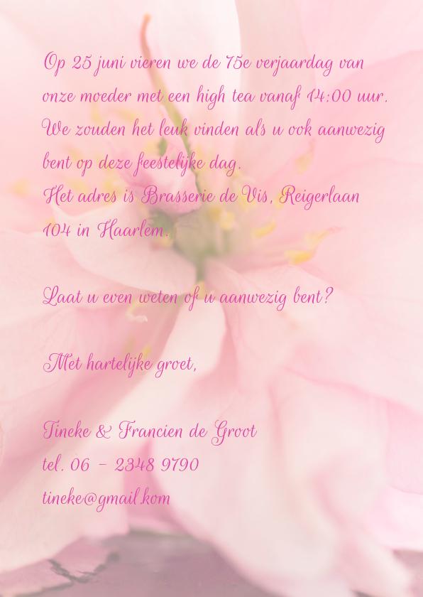 stilleven roze bloesem  3