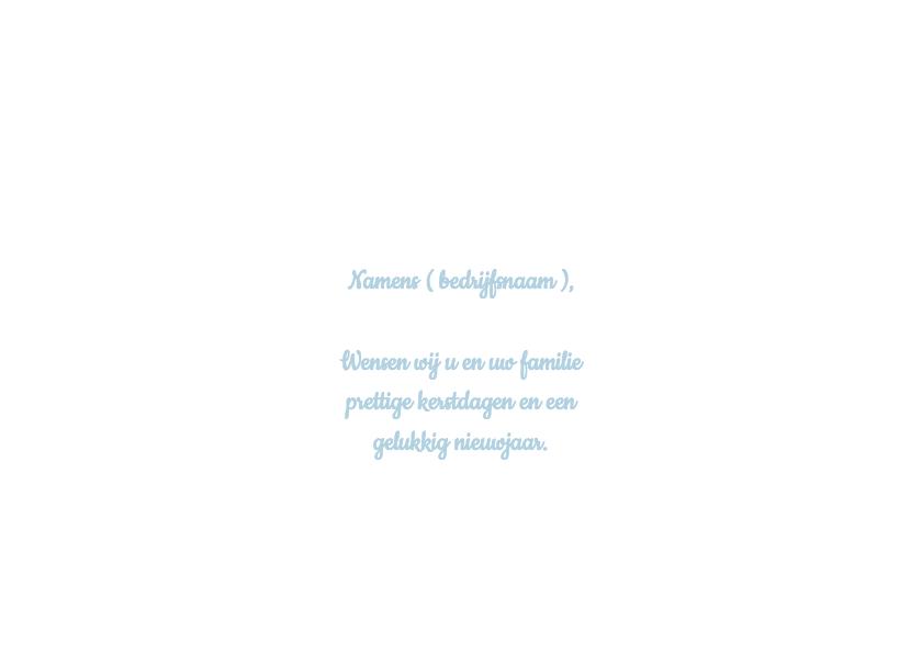 Strakke blauwe kerstkaart- Remco 3