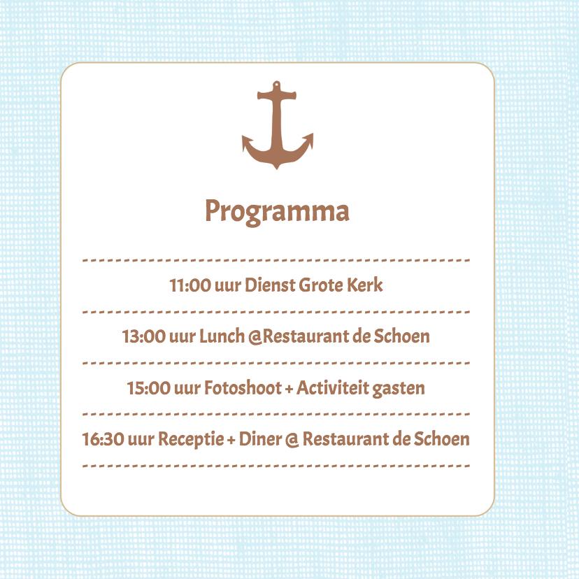 Strandsfeer uitnodiging - DH 2
