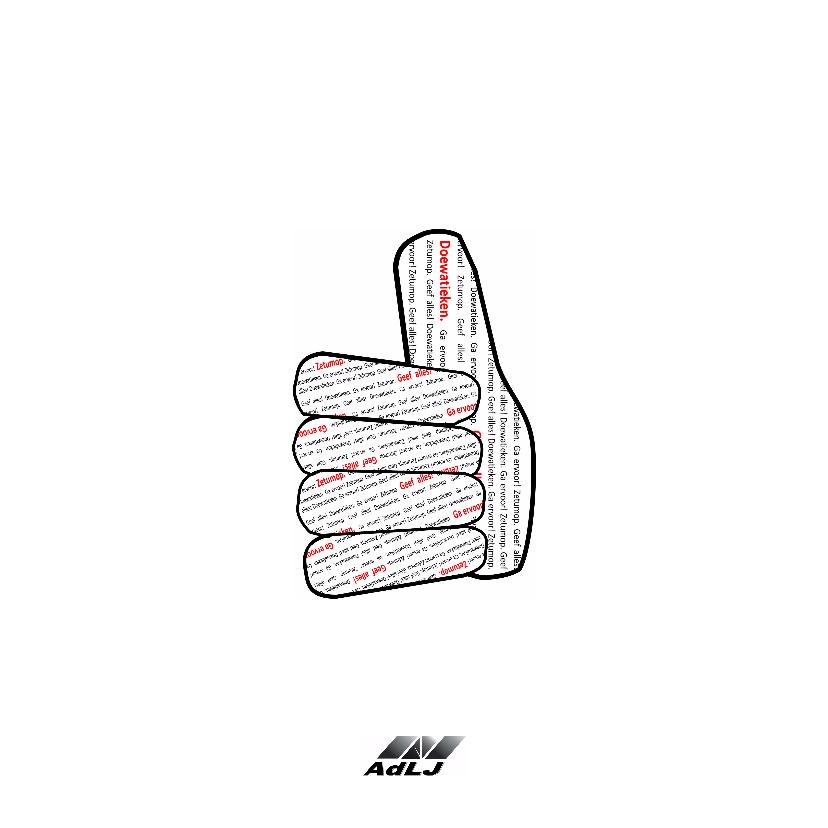 Succes We duimen! - AW 2