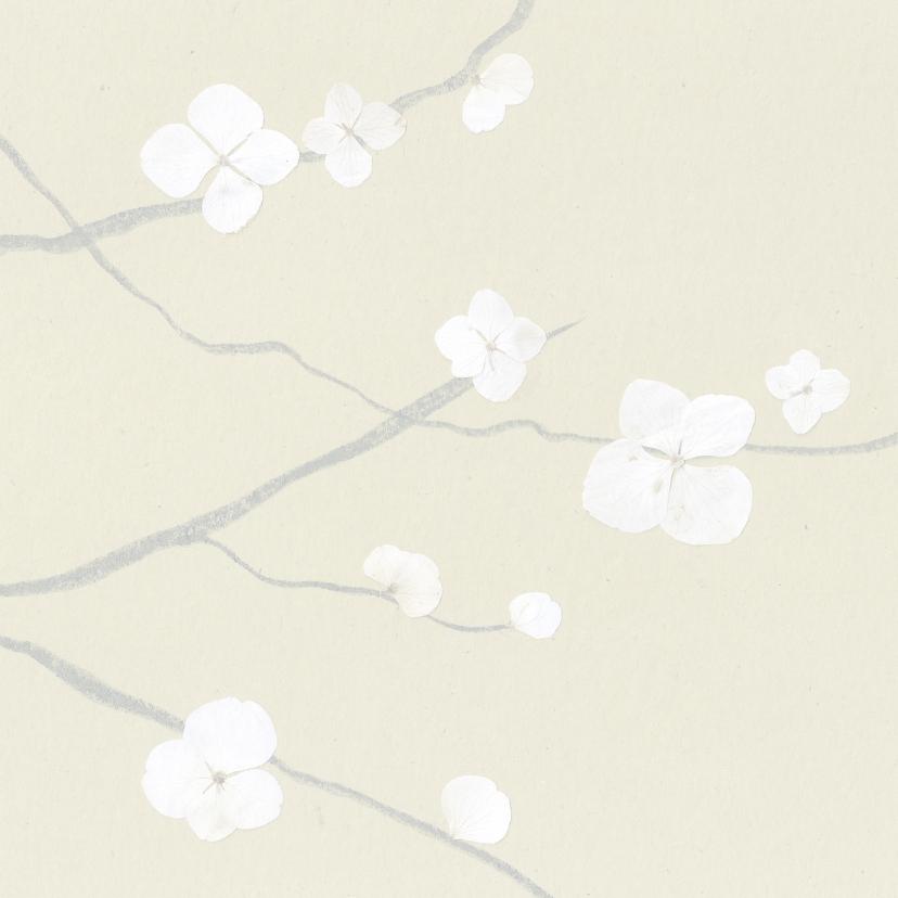 Tak met bloem 3