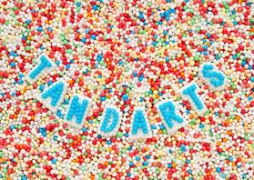 Kaarten mailing - TANDARTS - oproep van suiker letters
