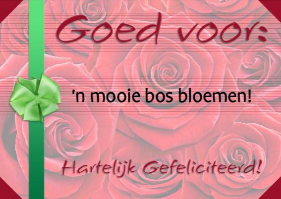 Tegoedbon mooie bos bloemen 3