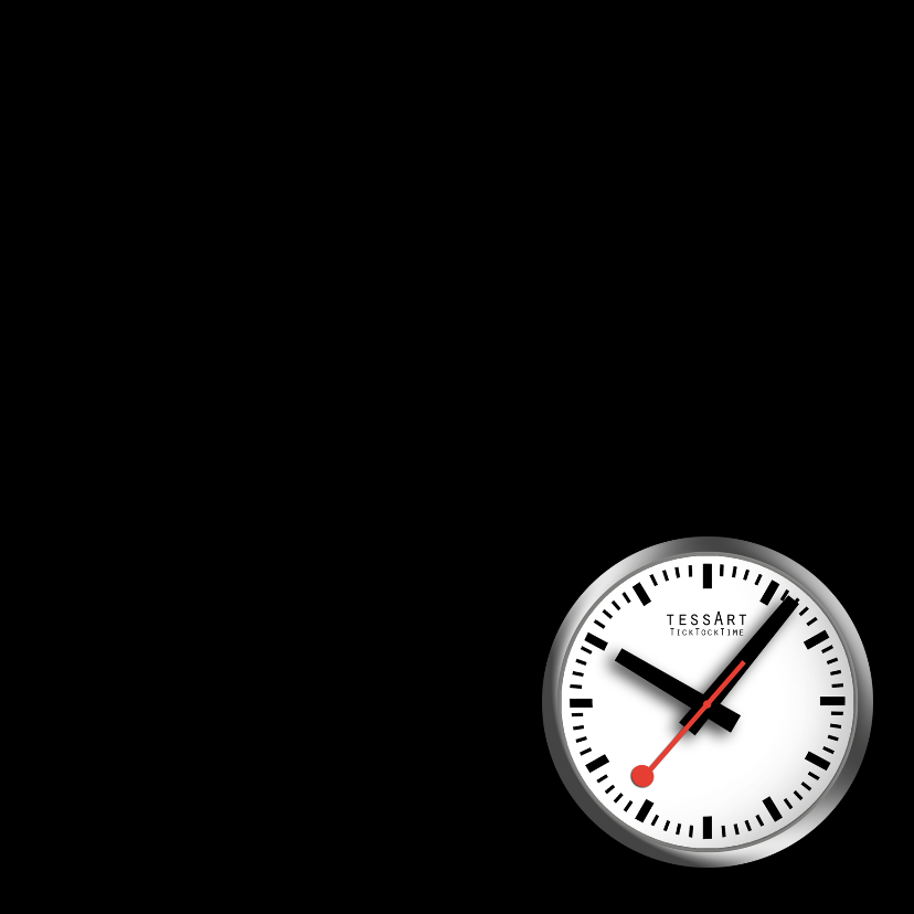 Tijd voor een feestje - zwartwit 3