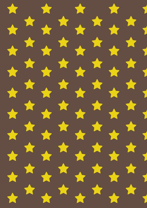 Tijdschriftkaart Ster Blauw 1LS3 2