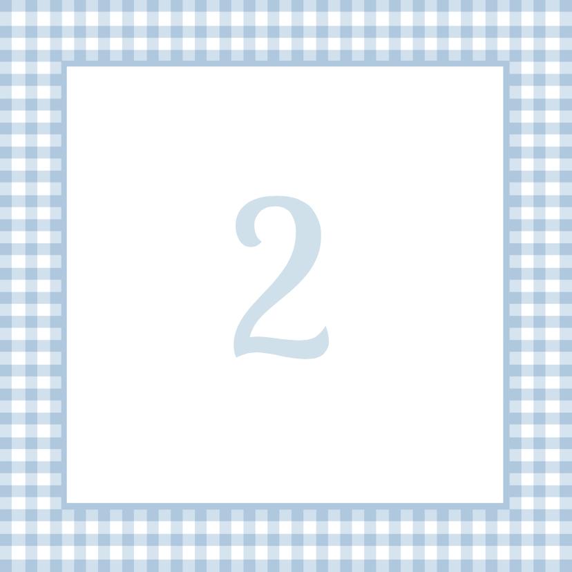 Traditioneel Feestje Blauw 1LS3 2