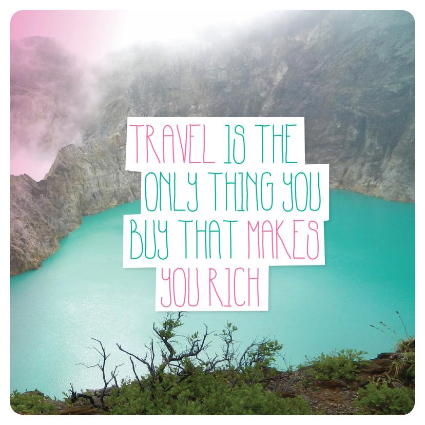 Travel engels vakantie kaartje