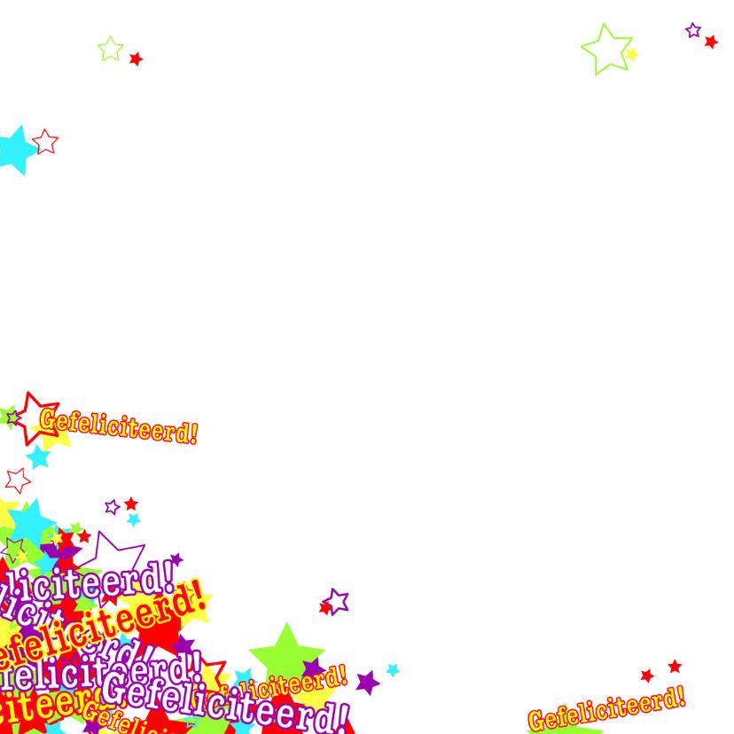 Trendy verjaardagskaart 4knt 2