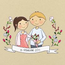 Trouwkaarten - Trouwen Save the Date - TbJ