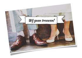 Trouwkaarten - Trouwen voeten banner - HR