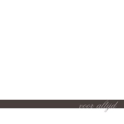 Trouwkaart Antraciet grijs 2 3