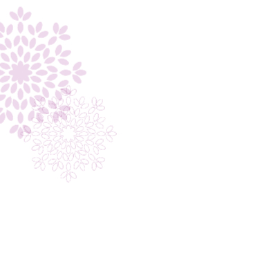 Trouwkaart bloem 1 2