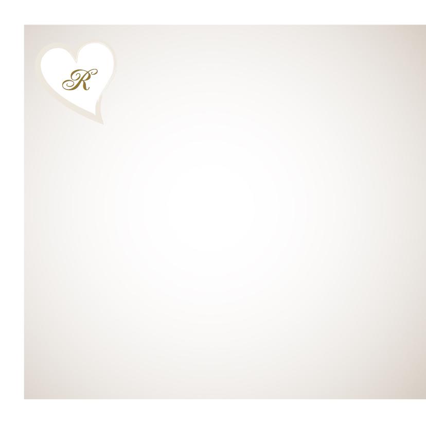 Trouwkaart met ringen en bloemen 2