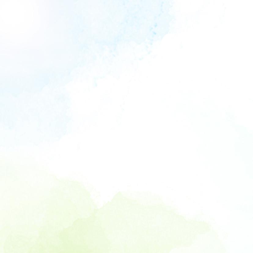 Trouwkaart met vlieger 3
