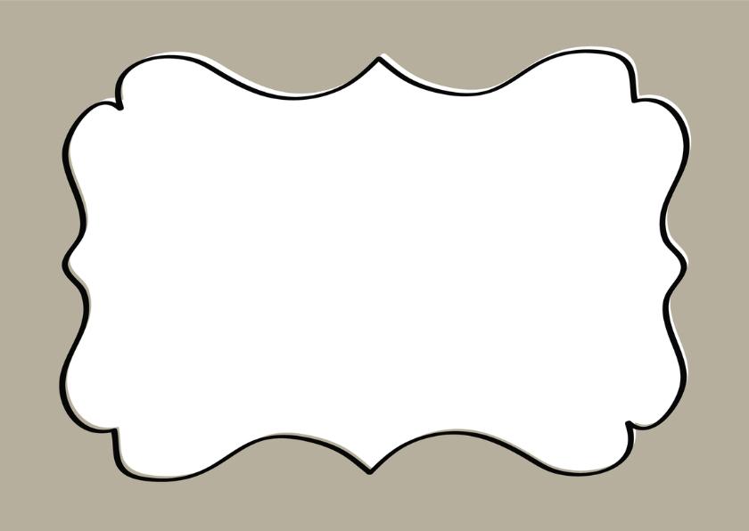 Trouwkaart Schild Taupe - SG 3