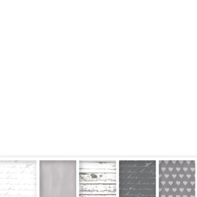 Trouwkaart Vakjes Grey & White 2
