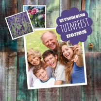 Uitnodigingen - tuinfeest lente-isf
