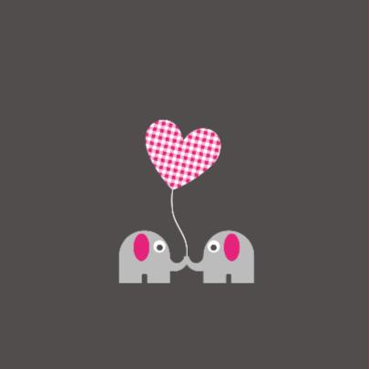 Tweeling olifantjes, meisjes 2