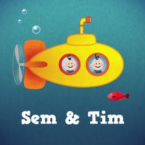 Geboortekaartjes - Tweeling onderzeeboot J/J