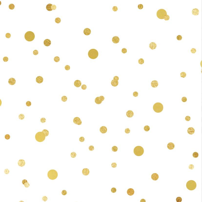 Uitnodiging 21 diner ballonnen goud 2
