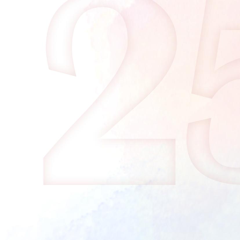 Uitnodiging 25 jr huwelijk zwaan 2