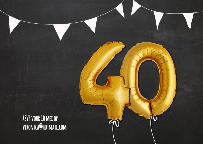 Uitnodiging 40 jaar Ballon - SG 2