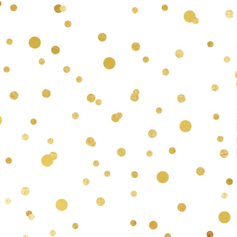 Uitnodiging 50 met ballonnen en confetti 2