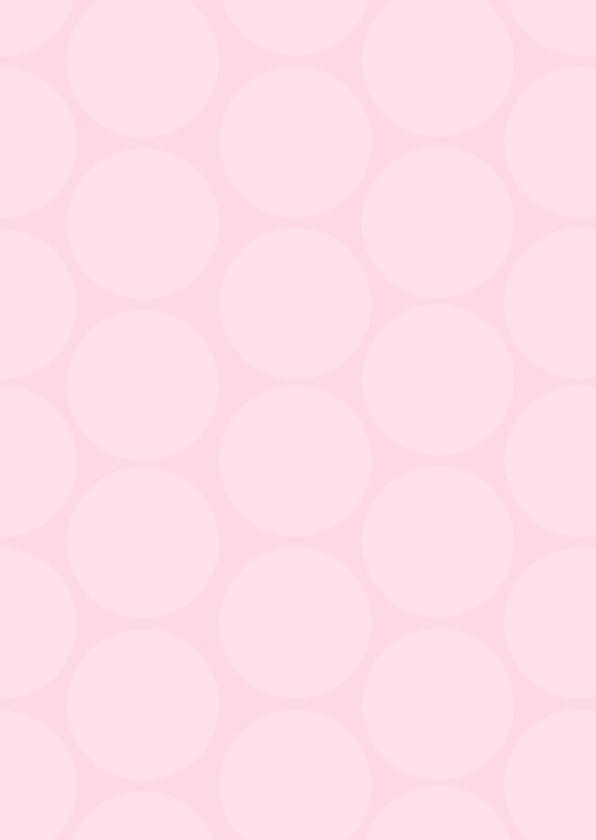 Uitnodiging babyshower polkadots roze 2