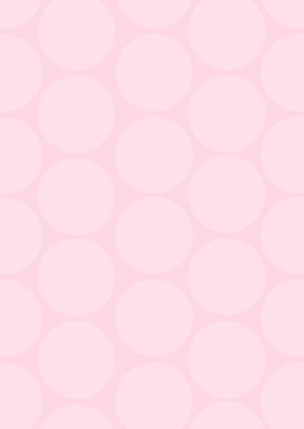 Uitnodiging babyshower polkadots roze 3
