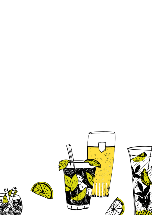 Uitnodiging bier en cocktails 3