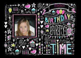 Kinderfeestjes - Uitnodiging Birthday tekst