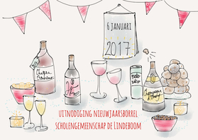 Uitnodiging Borrel 2017