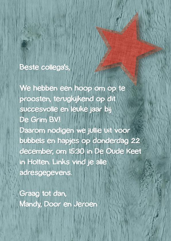 Uitnodiging borrel rond Kerst 3