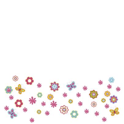 uitnodiging communie bloemen 2