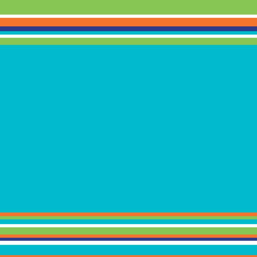 Uitnodiging Communie strepen blauw 3