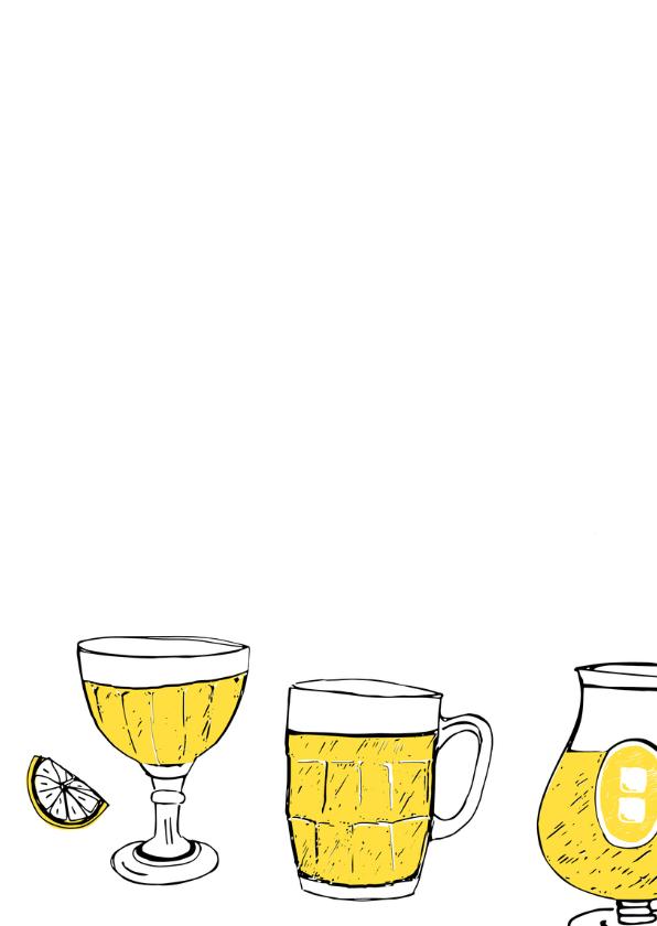 Uitnodiging feest biertjes 2